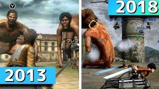 「進撃の巨人」ゲーム 進化の歴史