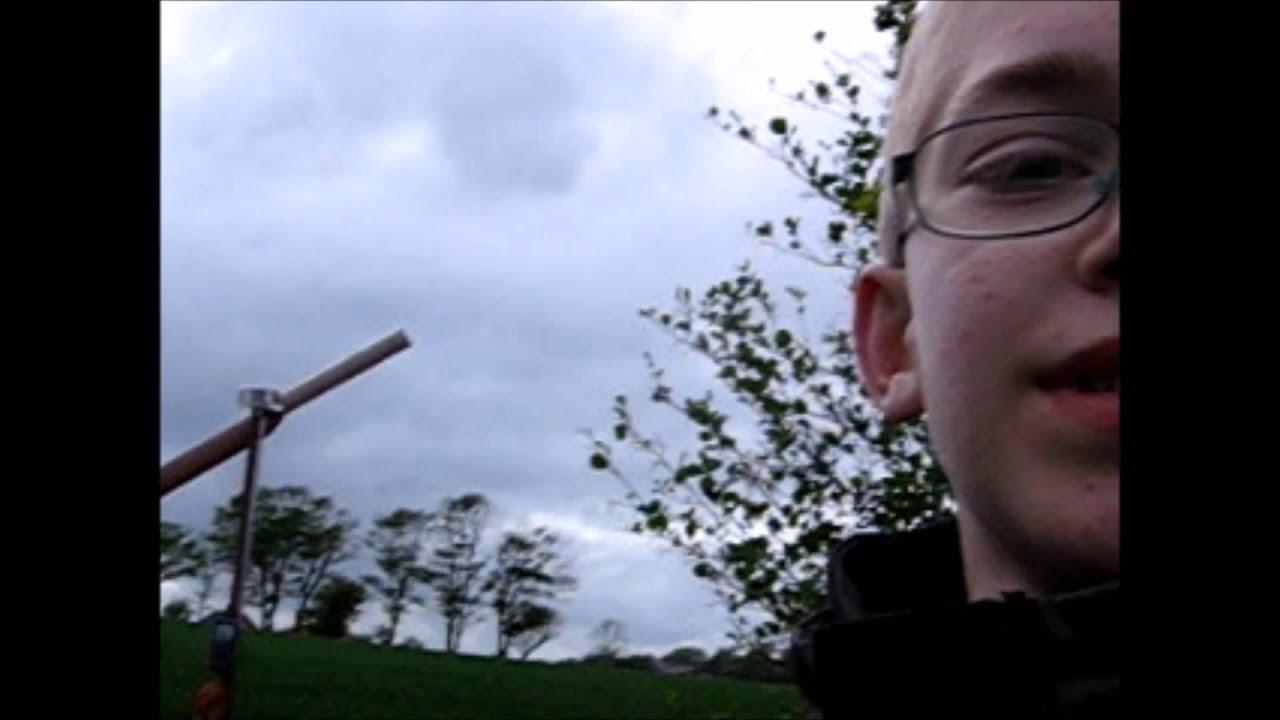 hjemmelavet vindmølle