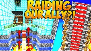 RAIDING OUR ALLY?! (Minecraft Saicopvp Factions #167)