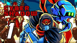 Cyber Shadow - Gameplay Walkthrough Part 1 (No Commentary, PS5)