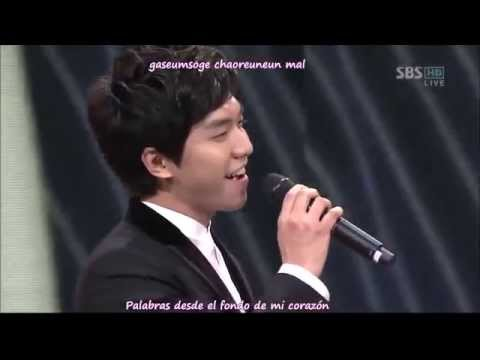 Lee Seung Gi - I love from you now on (Sub Español - Rom) - My Girlfriend is a Gumiho