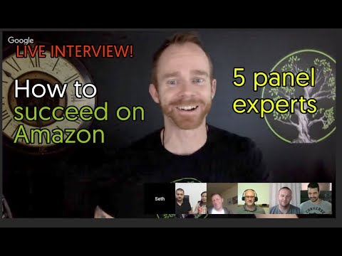 Ask Questions to Five Amazon experts. One Panel. Live Q&A.