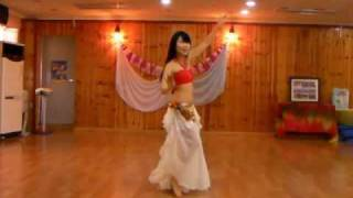 Samia belly dance - HABIBI YA EINI (Virginia's choreography)