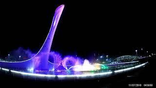 Сочи-парк. Поющие фонтаны
