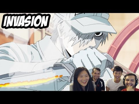 Medical Students React to Hataraku Saibou (Cells at Work) Episode 1 はたらく細胞