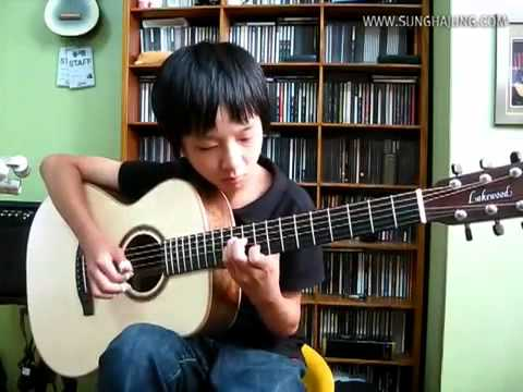 Jerry Reed) Jerry's Breakdown   Sungha Jung Acoustic Tabs Guitar Pro 6