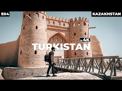 A FORT IN DESERT! TURKISTAN - KAZAKHSTAN | Part - 4 - 4K