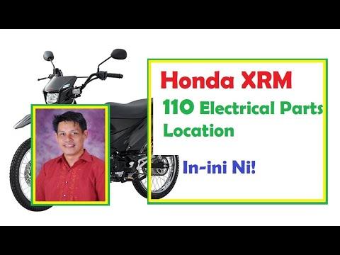 Saan Nakakabit Ang Mga Electrical Parts Ng Honda Xrm 110 Youtube