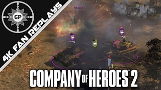 The Perfect AT Assault - Company of Heroes 2 4K Replays #103