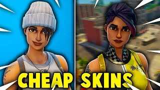 5 CHEAP SKINS YOU NEED TO BUY in Fortnite! (Fortnite Battle Royale)