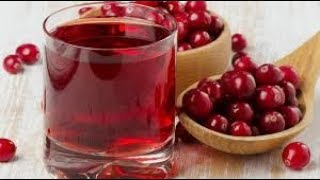 Cranberry Juice From Scratch | Homemade Simple And Easy