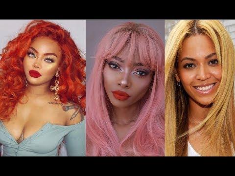 Best Hair Color Ideas For Dark Skin