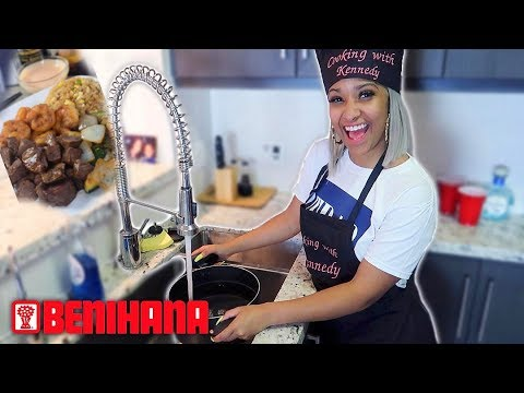 HOW TO COOK BENIHANA'S CHICKEN FRIED RICE AT HOME!!!