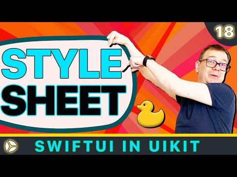 SwiftUI in UIKit - Stylesheet in iOS | Swift 5, Xcode 10 thumbnail