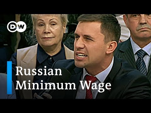 National debate over minimum wage in Russia | DW News