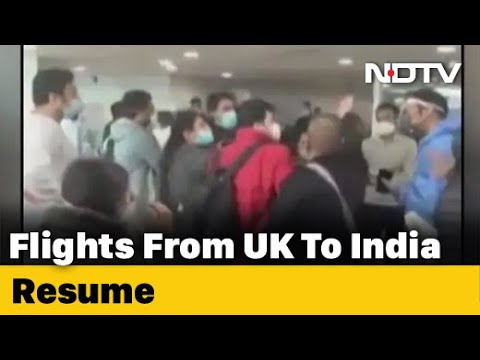 Chaos At Delhi Airport As Revised Covid Rules Catch UK Passengers Unaware