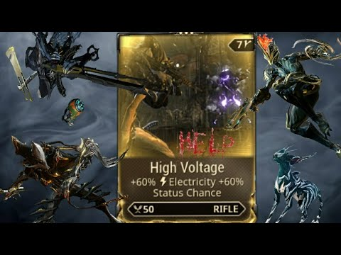How To Get The [High Voltage] Mod For Free In - Warframe