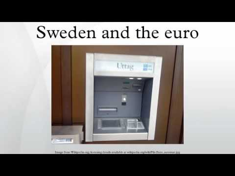 Sweden and the euro