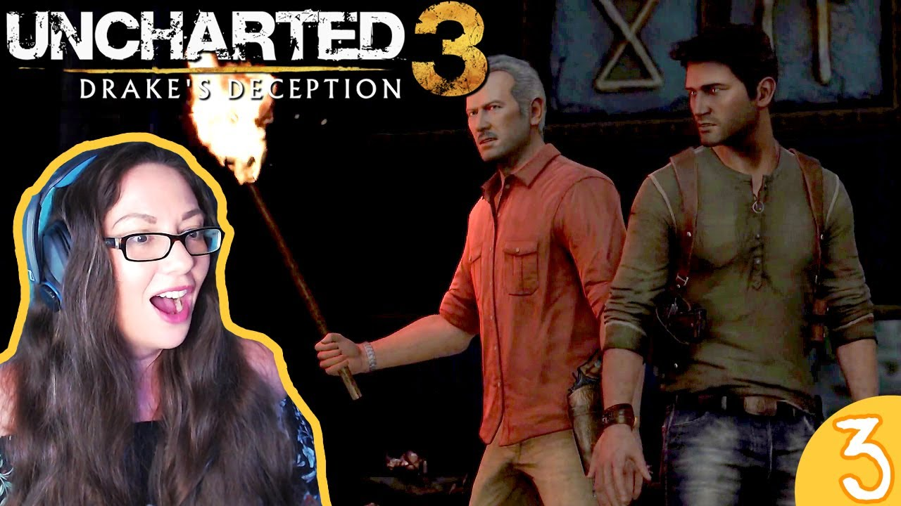 Spiders Uncharted 3 Drake S Deception Pt 3 Blind Gameplay