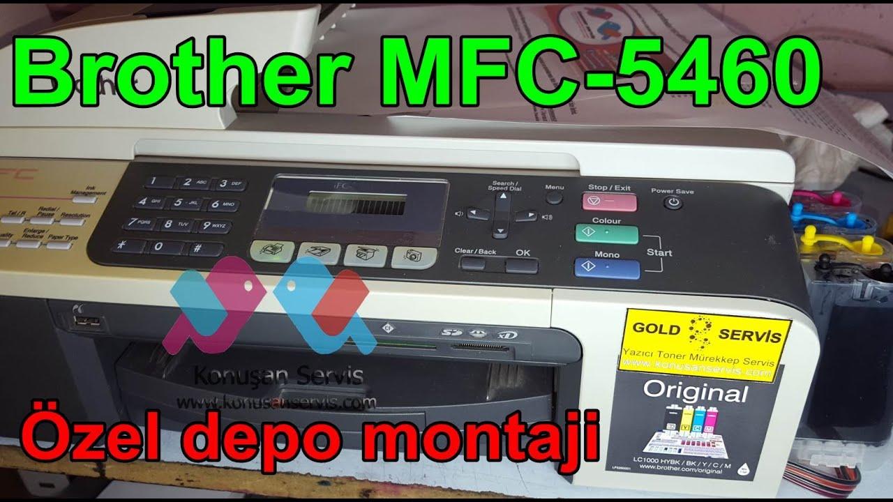 Brother MFC-5460CN Printer Driver Windows XP