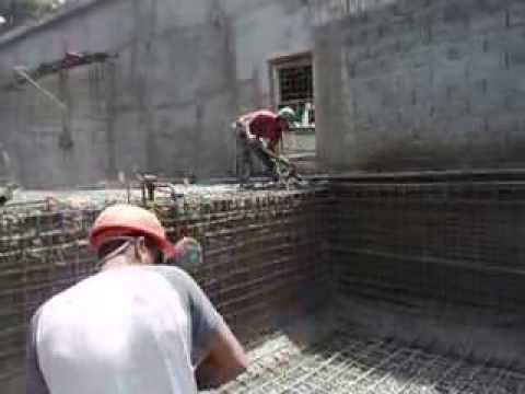 Bioarke piscina casa bb 01 tec concreto proyectado youtube for Construccion de piscinas de concreto