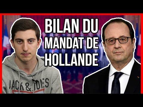 BILAN DU MANDAT DE FRANÇOIS HOLLANDE