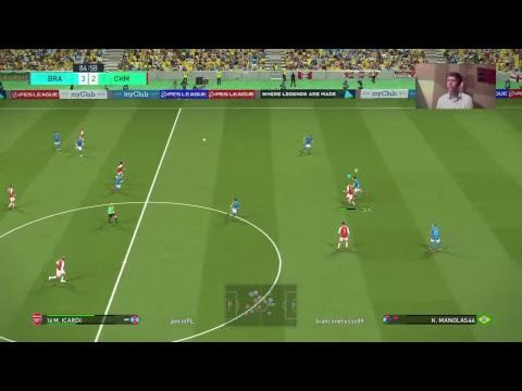 Brazilian legends - Online challenge cup i otwieranie piłek [PES 18] [PL]