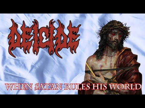 Deicide - When Satan Rules His World - Cover