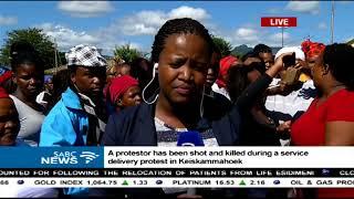One person shot dead in Keiskammahoek violent protests