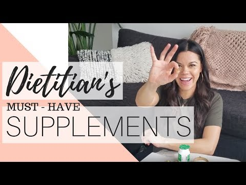 SUPPLEMENTS FOR BEGINNERS | DIETITIAN APPROVED