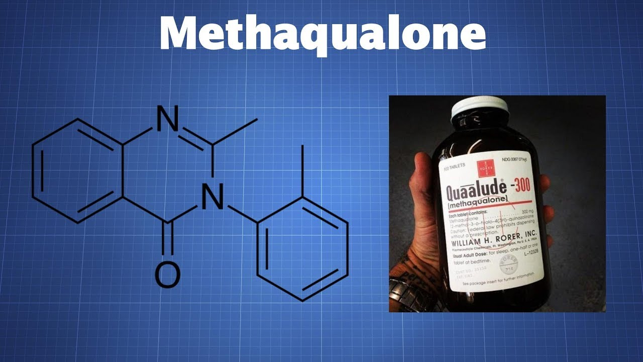 Methaqualone - The Drug Classroom
