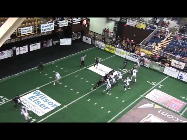Warren Smith QB 2013 Mid Season Highlights Richmond Raiders (PIFL)