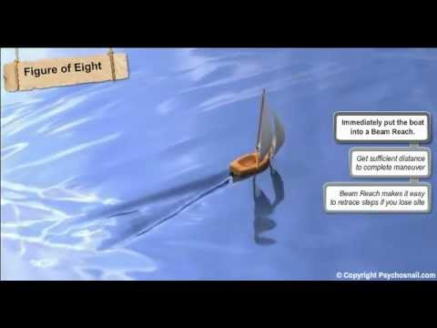 Lean to Sail - Lesson 1.5.1 - Man Overboard Sailing Procedure- PsychoSnail Sailing