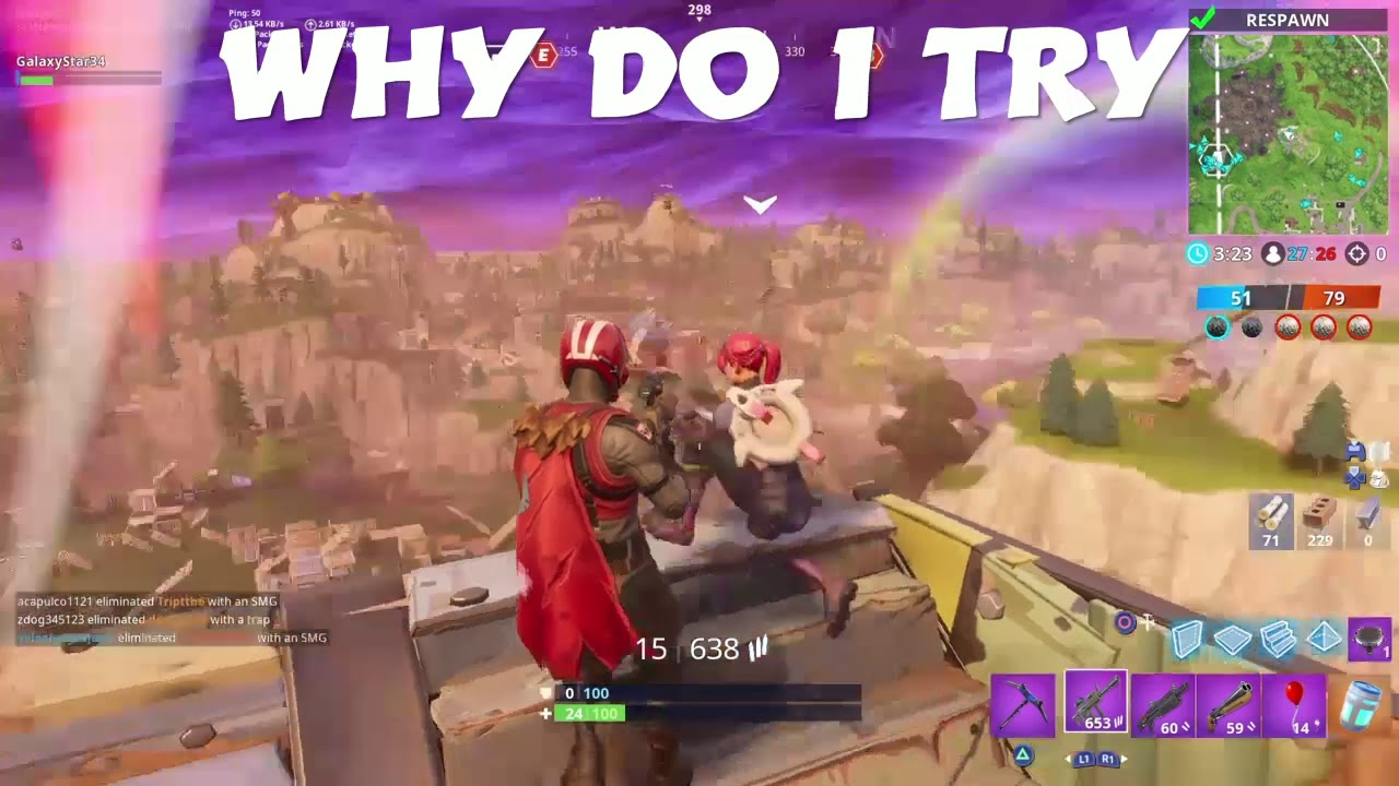 WHY DO I TRY