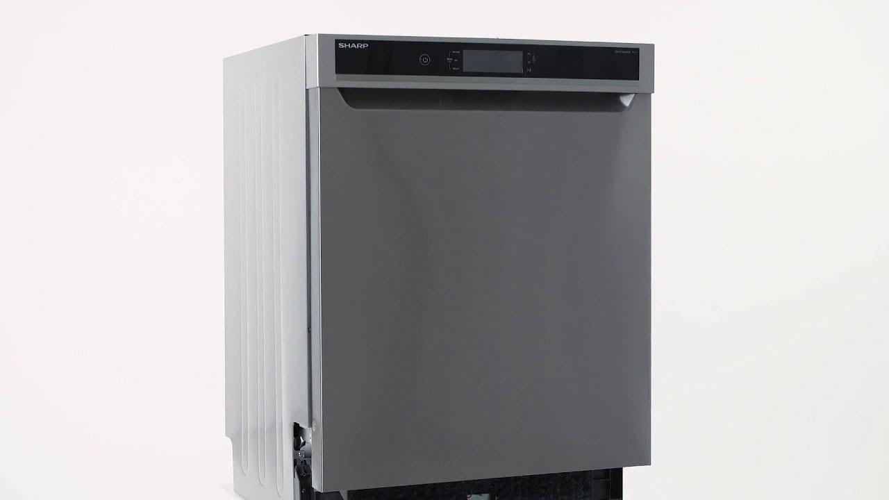 Sharp QW-GT43U393I-NR Diskmaskin - YouTube : aquastop diskmaskin : Inredning