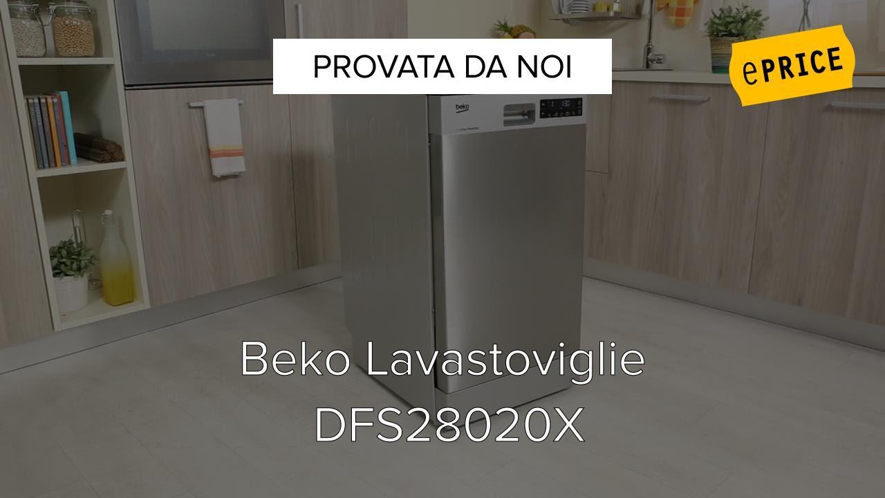 Video Recensione Lavastoviglie Beko DFS28020X - YouTube