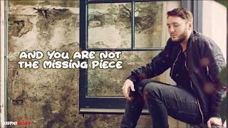 James Arthur - Empty Space ( Lyrics Video )