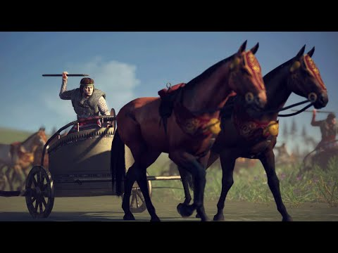 It Was All Going According To Plan...Until Chariots - 4v4 Siege - Total War: Rome 2