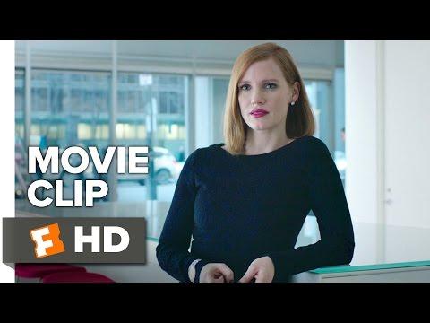 Miss Sloane Movie CLIP - Amateur Lip Reader (2016) - Jessica Chastain Movie