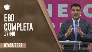 ESCOLA BÍBLICA DOMINICAL  17h40 | Rev. Alberto de Lima  | Igreja Presbiteriana de Pinheiros