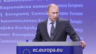 Putin visits Brussels - Full press conference with Barroso (EN/RU)