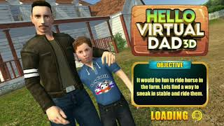 Hello virtual dad 3D Android Gameplay HD