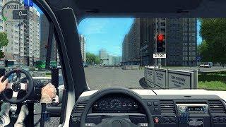City Car Driving - Acelerando Forte Um Caminhão - Volante G27