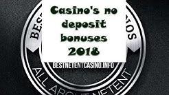 No deposit bonuses (50$) in online casinos 2018