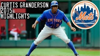 Curtis Granderson | 2015 Mets Highlights HD