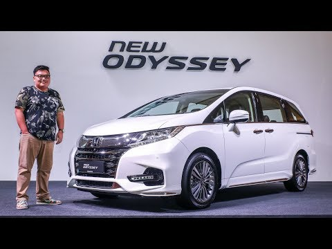 FIRST LOOK: 2018 Honda Odyssey facelift in Malaysia - RM255k