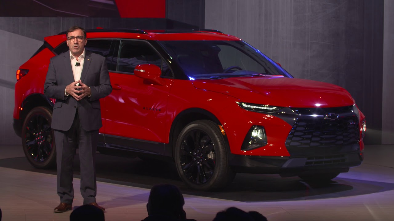 2019 Chevy Blazer reveal event - YouTube
