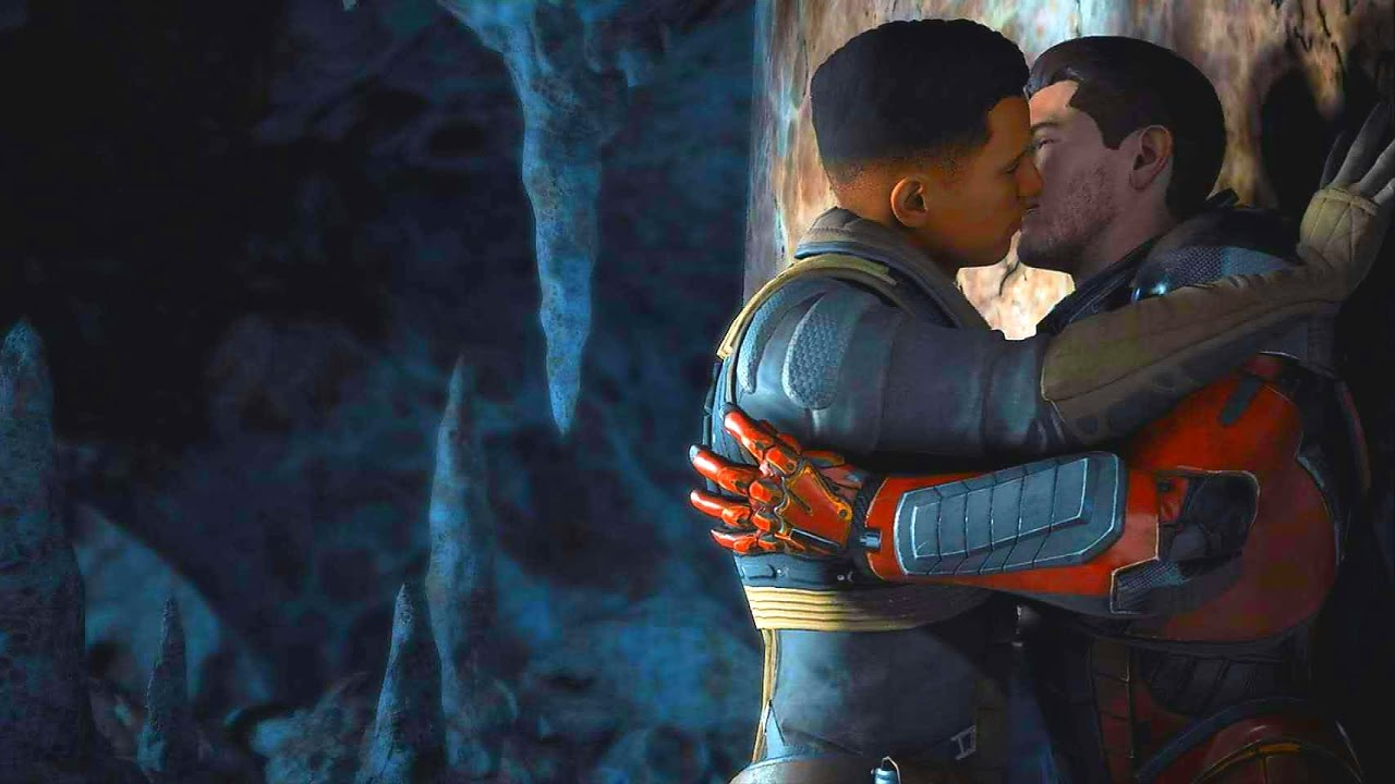Mass Effect gay sex scen