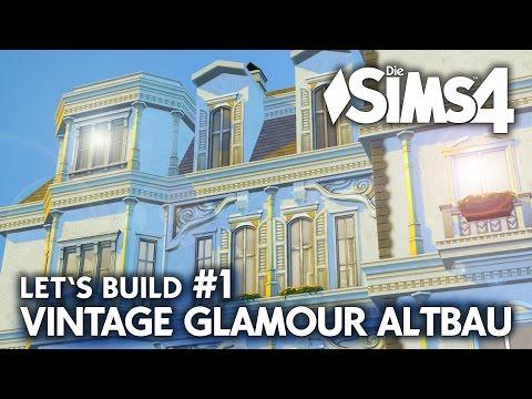 Grundriss | Die Sims 4 Haus bauen | Vintage Glamour Altbau #1