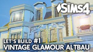 Grundriss   Die Sims 4 Haus bauen   Vintage Glamour Altbau #1
